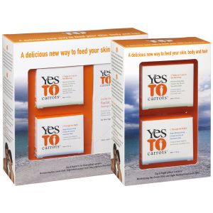 Yes to Carrots Packaging