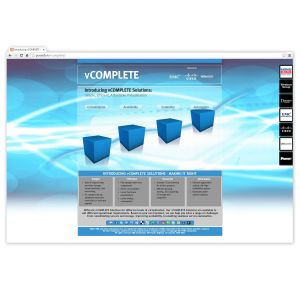 Vcomplete a One Page Interactive Micro Site