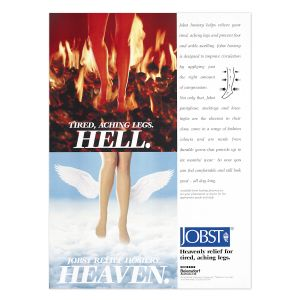 Jobst Hell or Heaven Advertisment